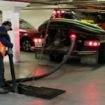 Underground Basin Cleaning